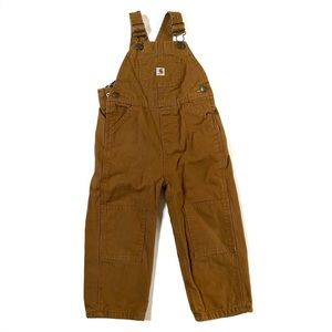 Carhartt Flannel Lined Cotton Cover Alls